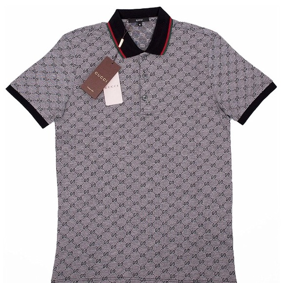 0ec8018c620 Gucci Signature GG Polos - AAA Quality